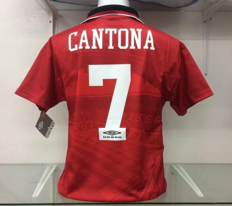 Il est le manageur de l'équipe de france de la discipline. Cantona home shirt 1994, iconic shirt, brand new in stock ...