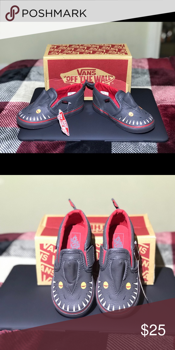 945631bb0f5f32 Vans asher V Vansosaur toddler shoes Brand new with box (box is slightly  damaged) Vans Shoes Sneakers
