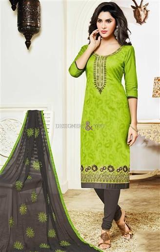 Casual Churidar Pant Type Salwar Kameez Suit Online Shopping For
