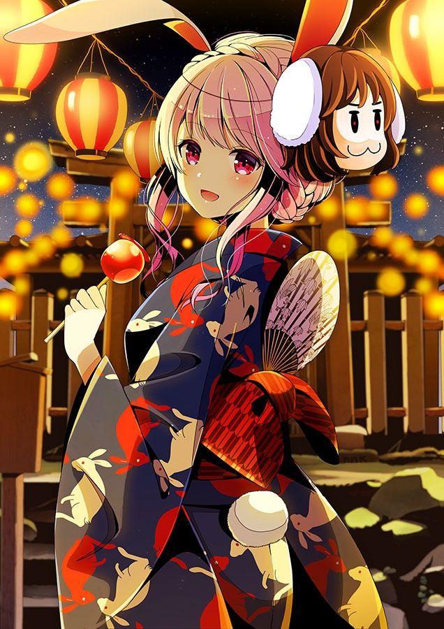 touhou おしゃれまとめの人気アイデア pinterest 画像取得馬鹿 夏祭り イラスト アニメ着物 東方 壁紙