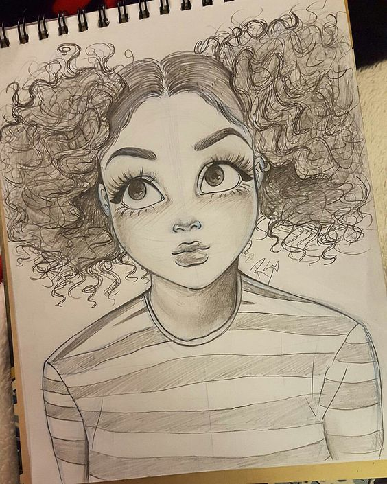 cute, creepy, Melanie Martinez girl inspired drawing by Christina ...