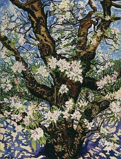 Oude bloeiende appelboom - Charley Toorop (1891 - 1955)