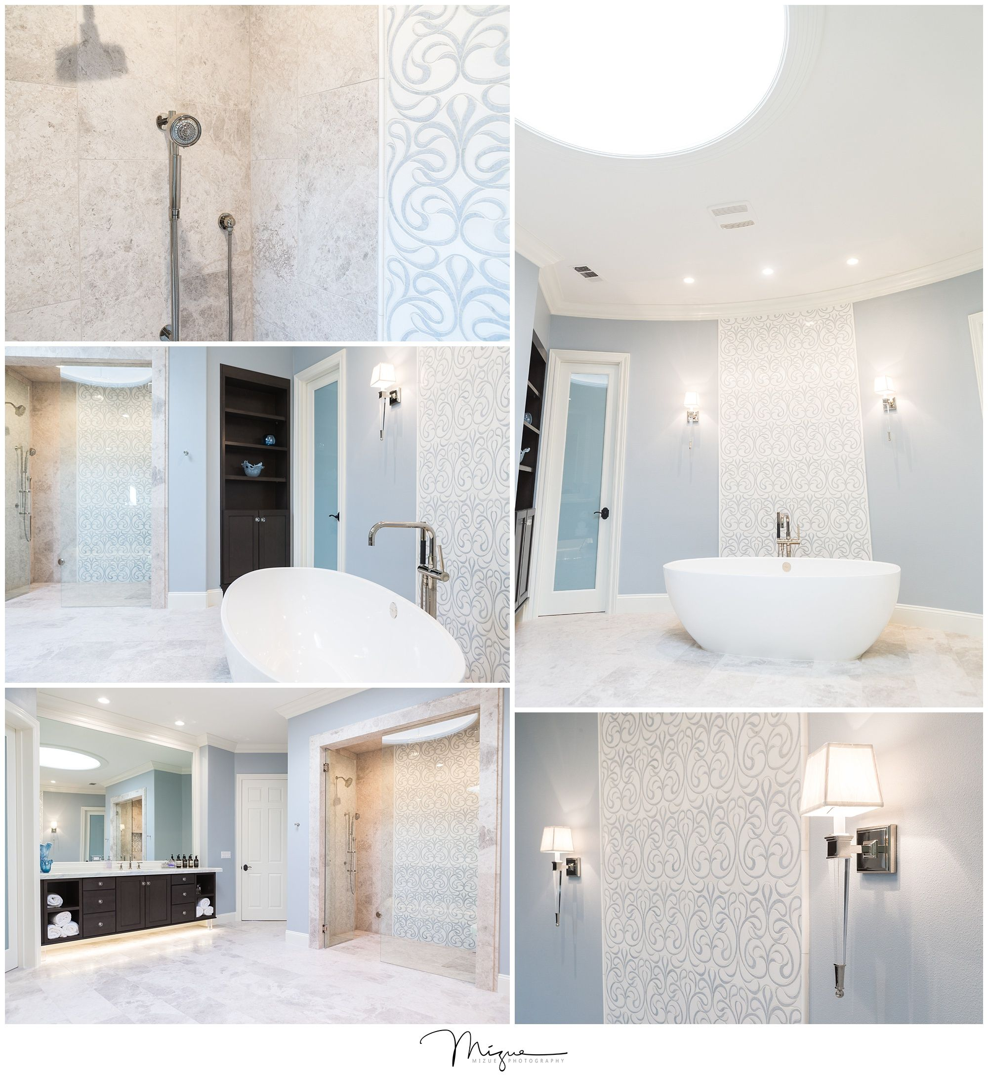 Bright, elegant and spacious bathroom remodel | Butler Construction ...