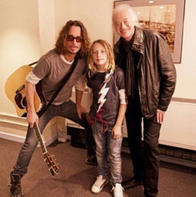 Chris Cornell & Jimmy Page! OOOMMMGGG!