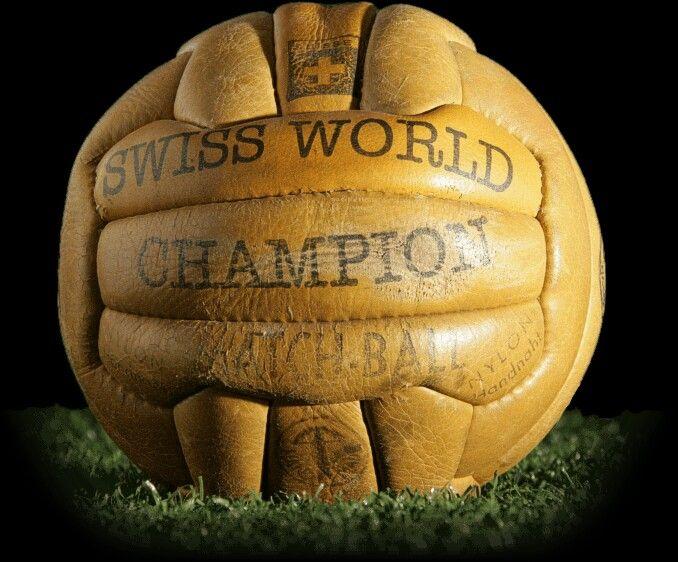 F.I.F.A. World Cup Ball 1954 Balones Adidas 007eedbd95ca1