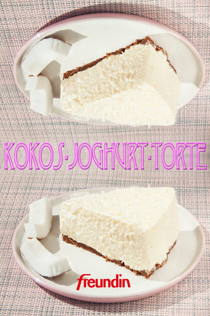Photo of Rezept: Kokos-Joghurt-Torte ohne Backen | freundin.de