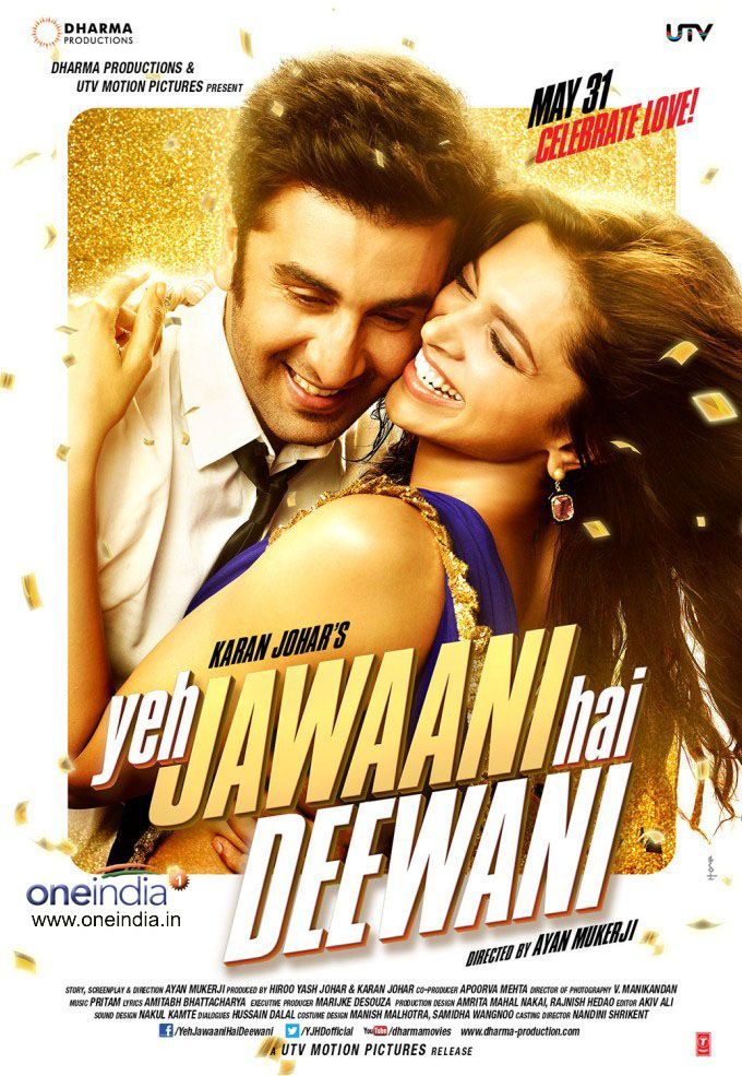 ترجمة فيلم Yeh Jawaani Hai Deewani 2013 متوافقة مع النسخة Bluray 720p Http Subscene Com Subtitles Yeh Jaw Best Bollywood Movies Hindi Movies Bollywood Movies