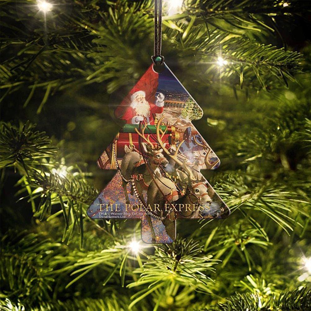 Polar Express Christmas Tree Hanging Acrylic 8554355 Products