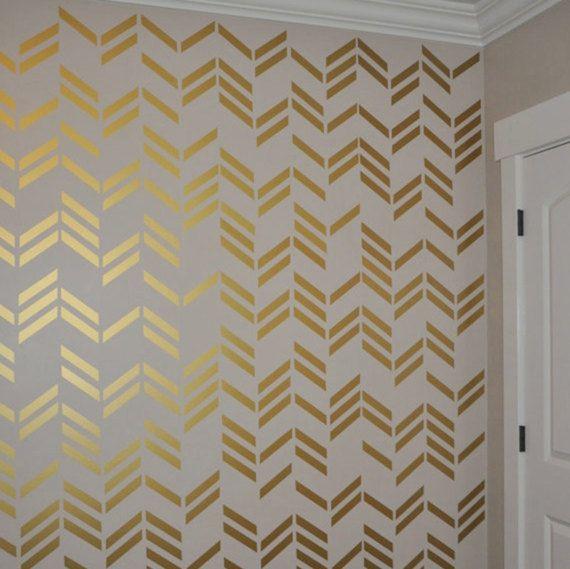 Golden Dots Gold Wall Decals Polka Dot Wall Decor Girl Room