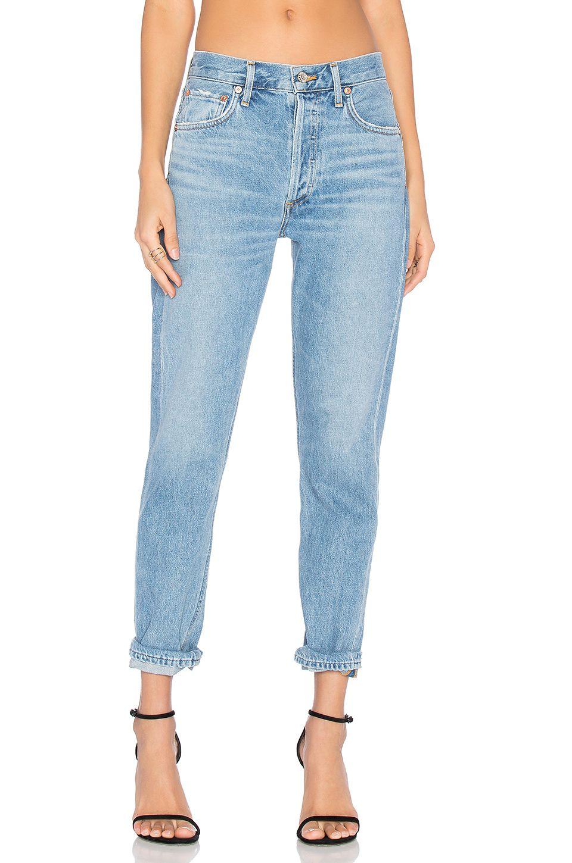 1722e5f6e8f530 AGOLDE Jamie High Rise Classic in Brooklyn Fashion To Figure, Revolve  Clothing, Mom Jeans