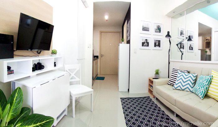 Light and Airy 23 SQM Condo UnitWhat Else MichelleCondo. 1 bedroom condo interior design ideas