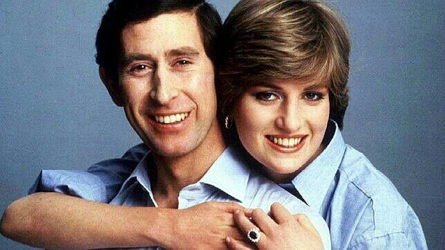 Charles y  Diana.