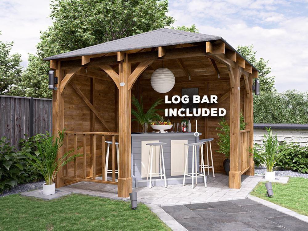 Garden Bar Gazebo 3m x 3m