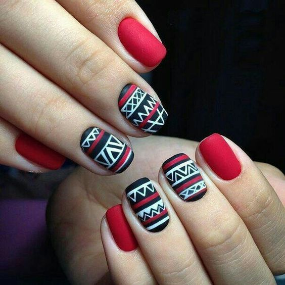 30+ Cute nails Design You Can Try For Winter   Winter nails, Winter ...