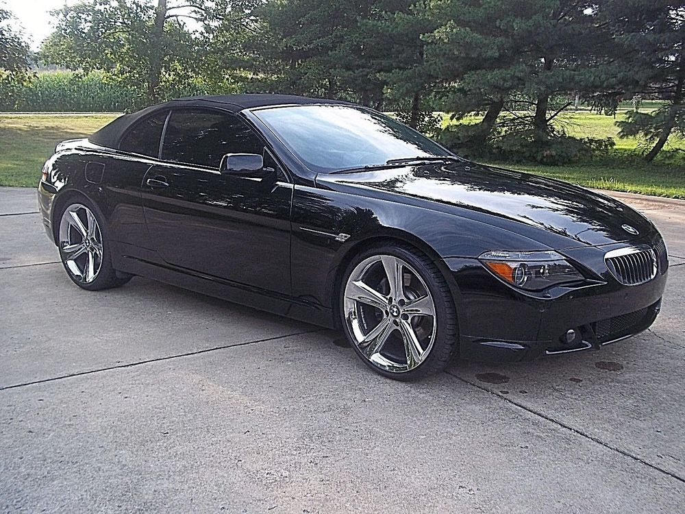 2006 Bmw 6 Series Convertible 2d Sport Package 2006 Bmw 6 Series