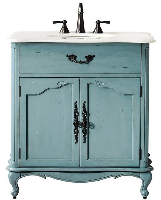 Provence Single Sink Vanity - Bath - Bathroom Vanities ...