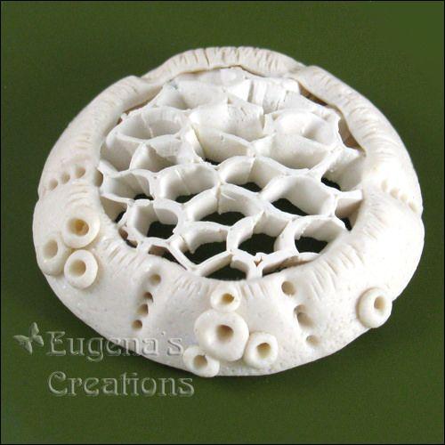 openwork polymer clay   Eugena Topina   Flickr