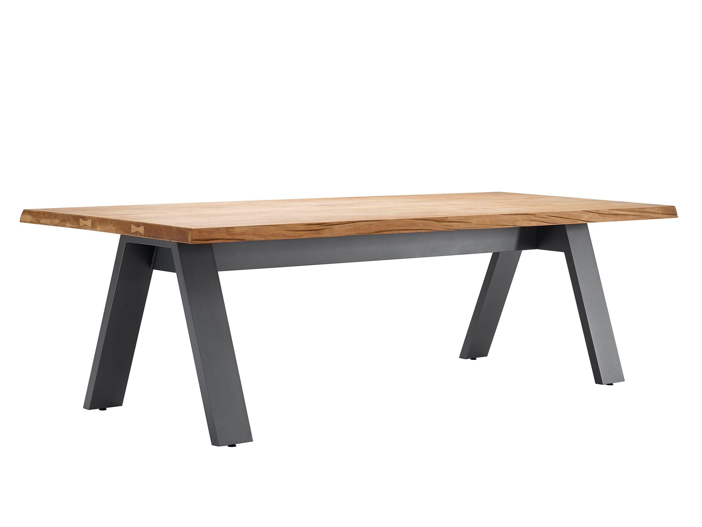 Tavolo Da Giardino Teak.Tavolo Da Giardino Rettangolare In Teak Timber By Solpuri Design