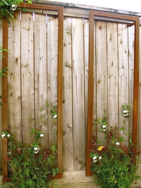 Best Ina Wall Trellis Sr Since Most Front Gardens Are Oriented 400 x 300