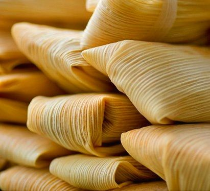 Tamales - with your crockpot's help! For Chicken Tamales just swap out the beef for chicken & use chicken broth.