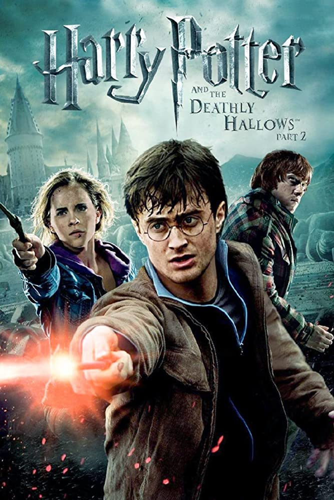 Harry Potter And The Deathly Hallows Part 2 Harry Ron And Hermione Search For Voldemort S Remaini Harry Potter Movies Harry Potter Film Harry Potter Poster