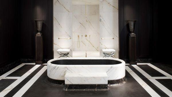 Joseph dirand ad interieur.jpg 600×338 pixels bath room