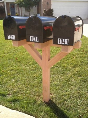 Multiple Mailbox Landscaping