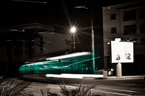 07:02 Agent Chtouki, powerless couldn't do anything than watching the tramway leaving out in the darkness of the night...