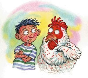 Chickenpox! It went through my whole family.