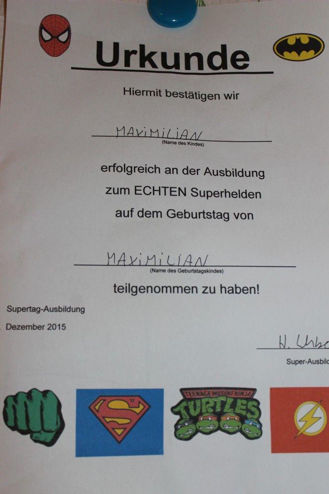 Kindergeburtstag Mit Werbung Superhelden Geburtstag Spiele