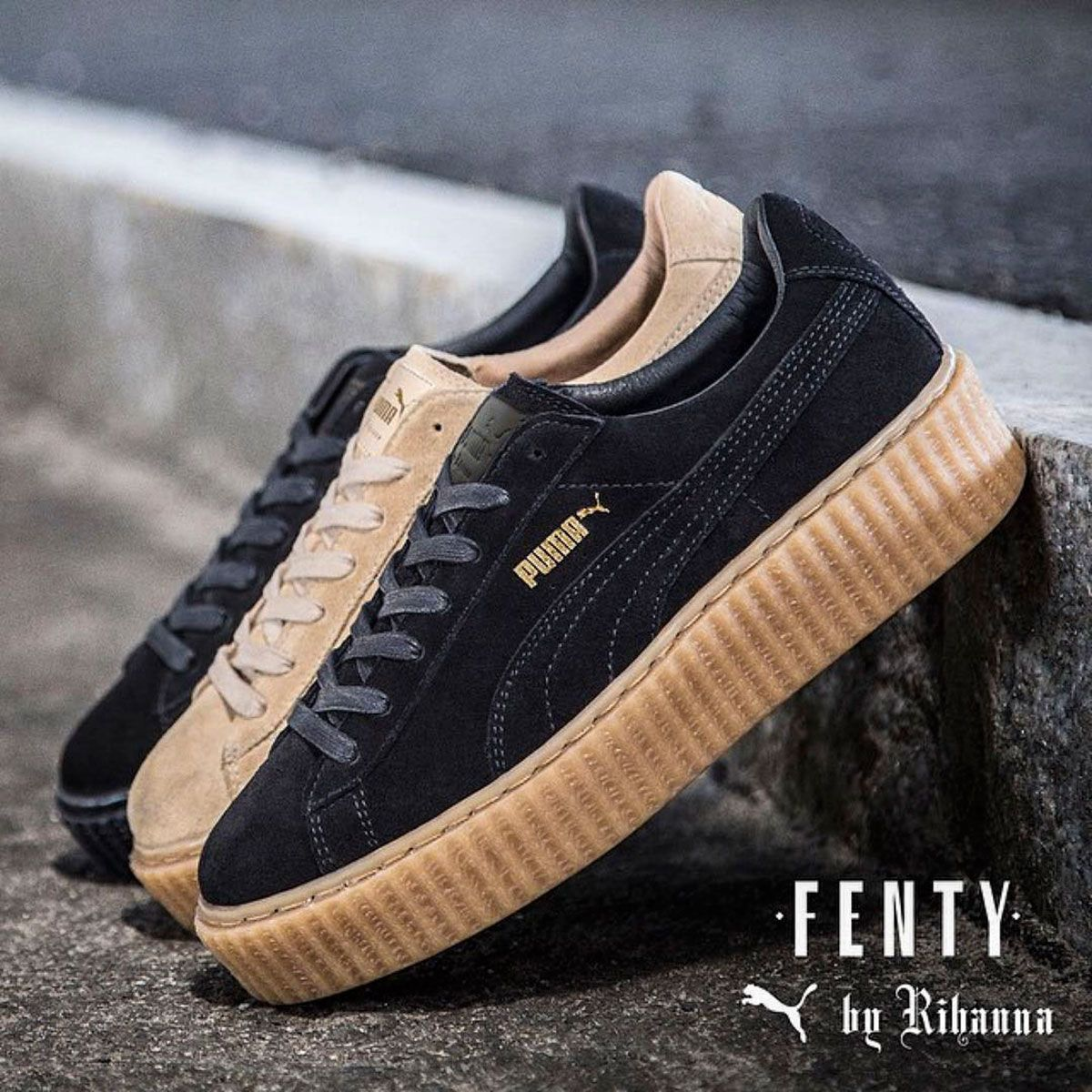 newest collection 23246 94259 Rihanna Fenty Puma Creepers sold out online | sneakers ...