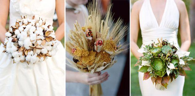 Brides Unique Alternatives To Bridal Bouquets