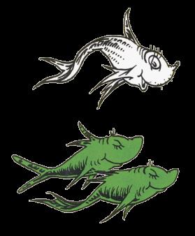 Pix For Dr Seuss Blue Fish Clip Art Comics Pinterest Fish