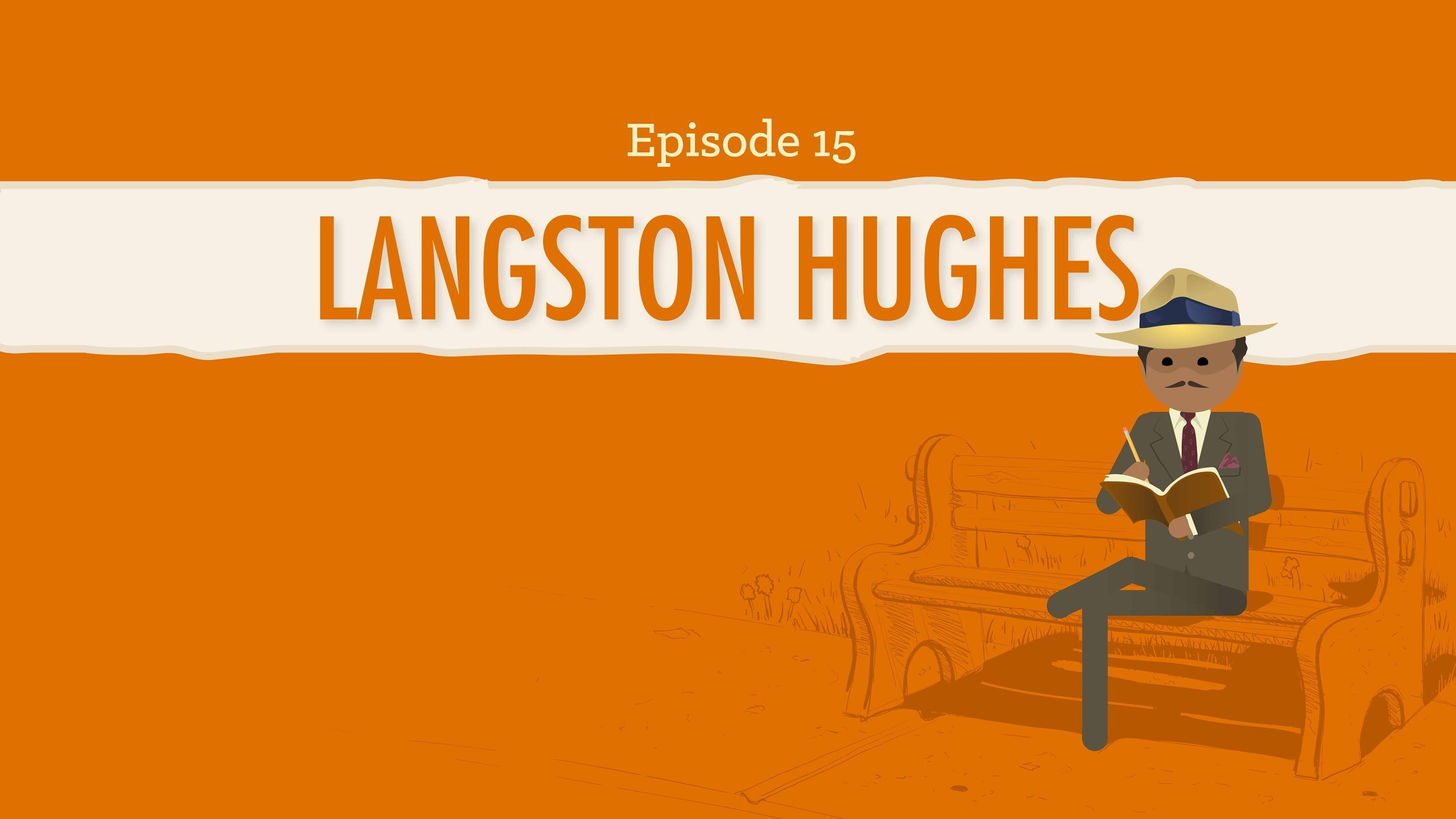Langston Hughes & the Harlem Renaissance: Crash Course Literature ...