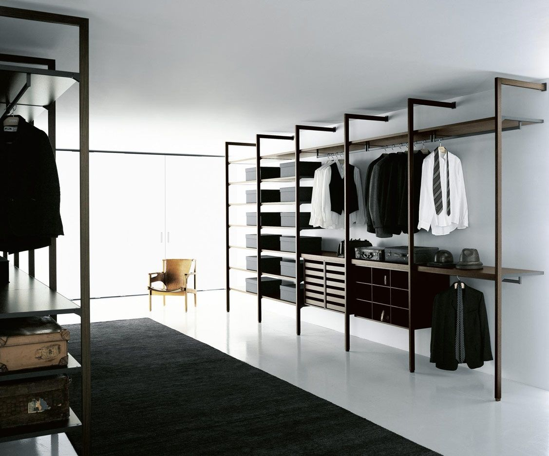 Cabina armadio design by piero lissoni porro spa diy pinterest walk in closet closet - Cabina armadio design ...