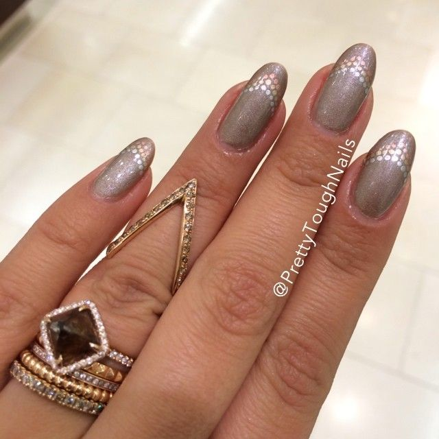 Prettytoughnails' Medal-worthy Nails. Show Us Your Tips