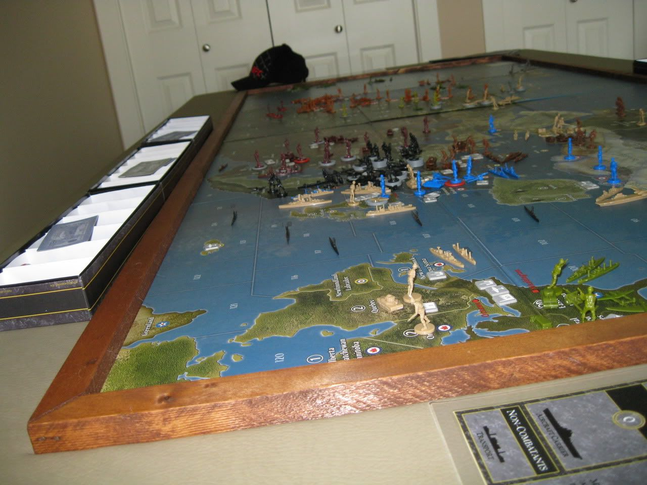 Axis and Allies  org Forums: Global Gaming Table | Diy