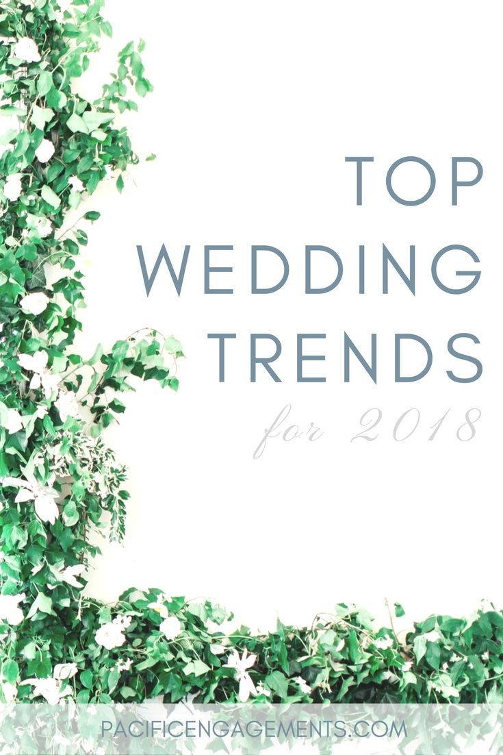 Wedding decoration ideas 2018   Wedding Trends to Look Out For  Wedding trends Wedding