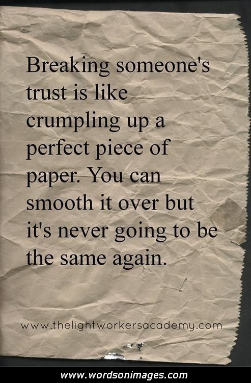 Inspirational Quotes About Trust Added By Picture Quotes Posted