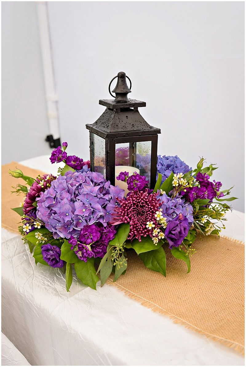 Summer Wedding with Star Wars Details #purpleweddingflowers