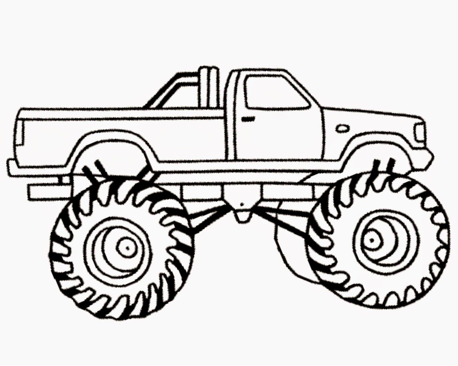 Monster Truck Coloring Pages Free Http Www Wallpaperartdesignhd Us Monster Truck Col Monster Truck Coloring Pages Truck Coloring Pages Monster Truck Birthday