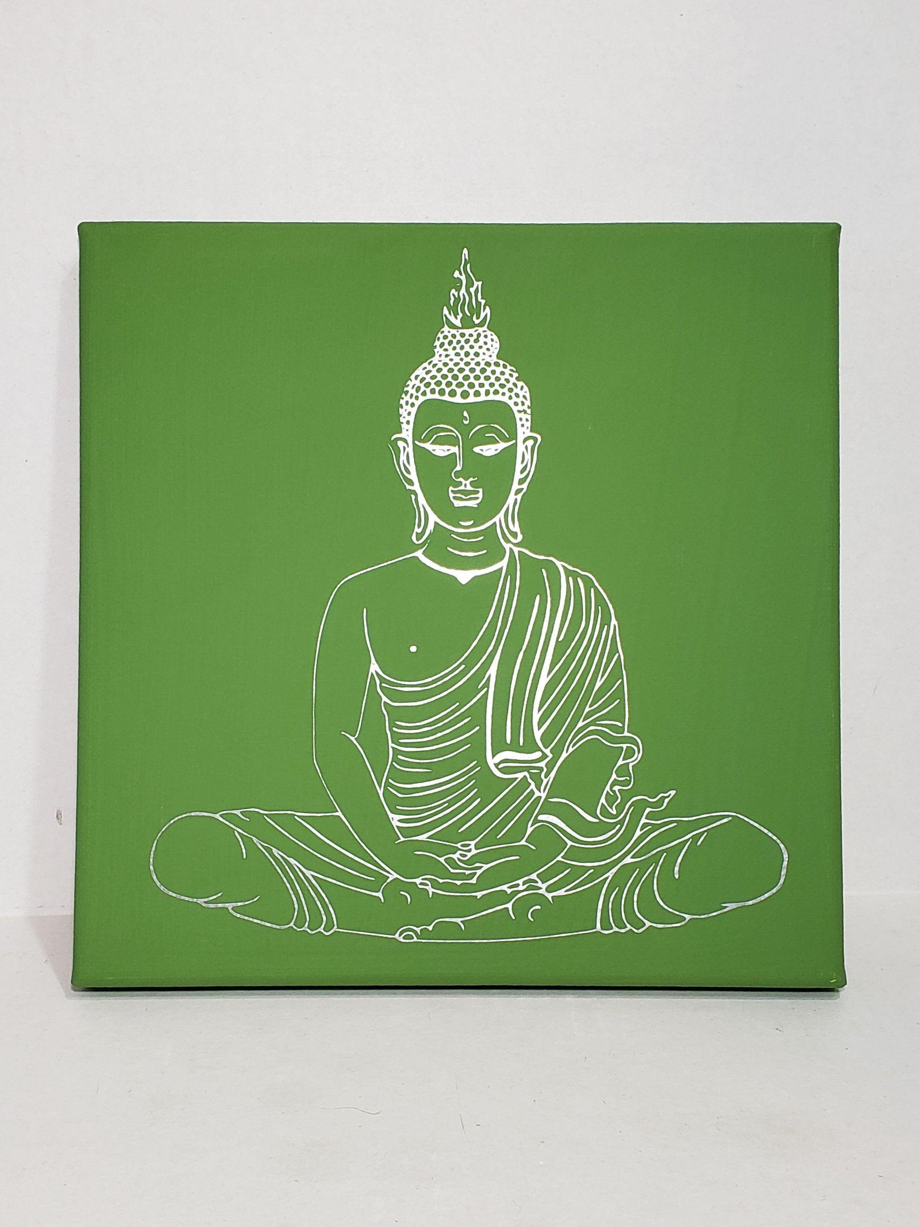 8x8 Bedroom Design: Buddha Art, Zen Art, Buddha On Canvas, 8x8 Art, Bedroom
