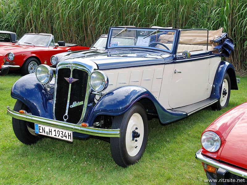 Hanomag_Sturm_cabriolet_AmbiBudd_1934 (With images