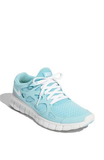 Nike Free Run 2 Light Green Blue Nike Shoes Outlet Nike Free Shoes Nike Shoes Women