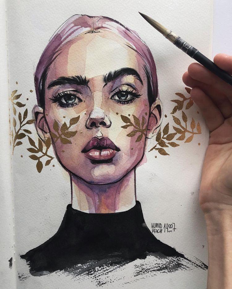 Fabriquer Un Flocon De Neige En Papier Portrait Dessin Dessin