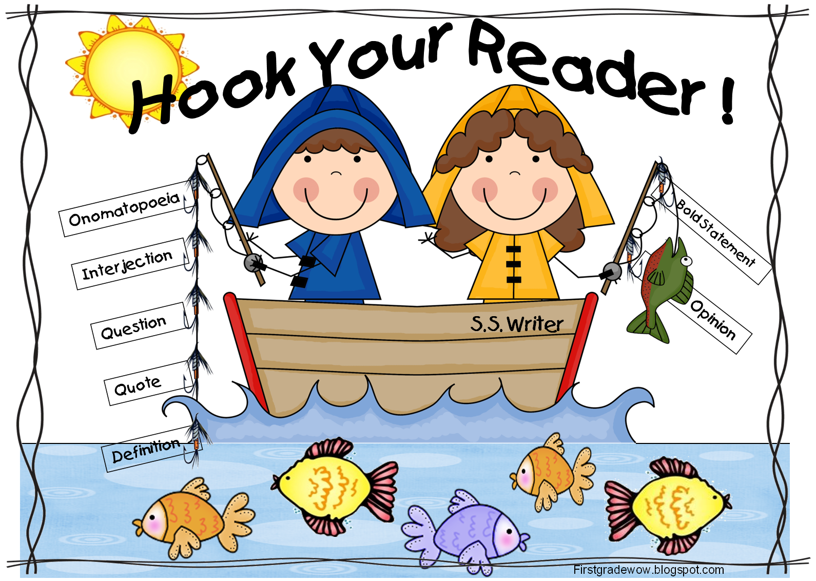 First Grade Wow Hook Your Reader