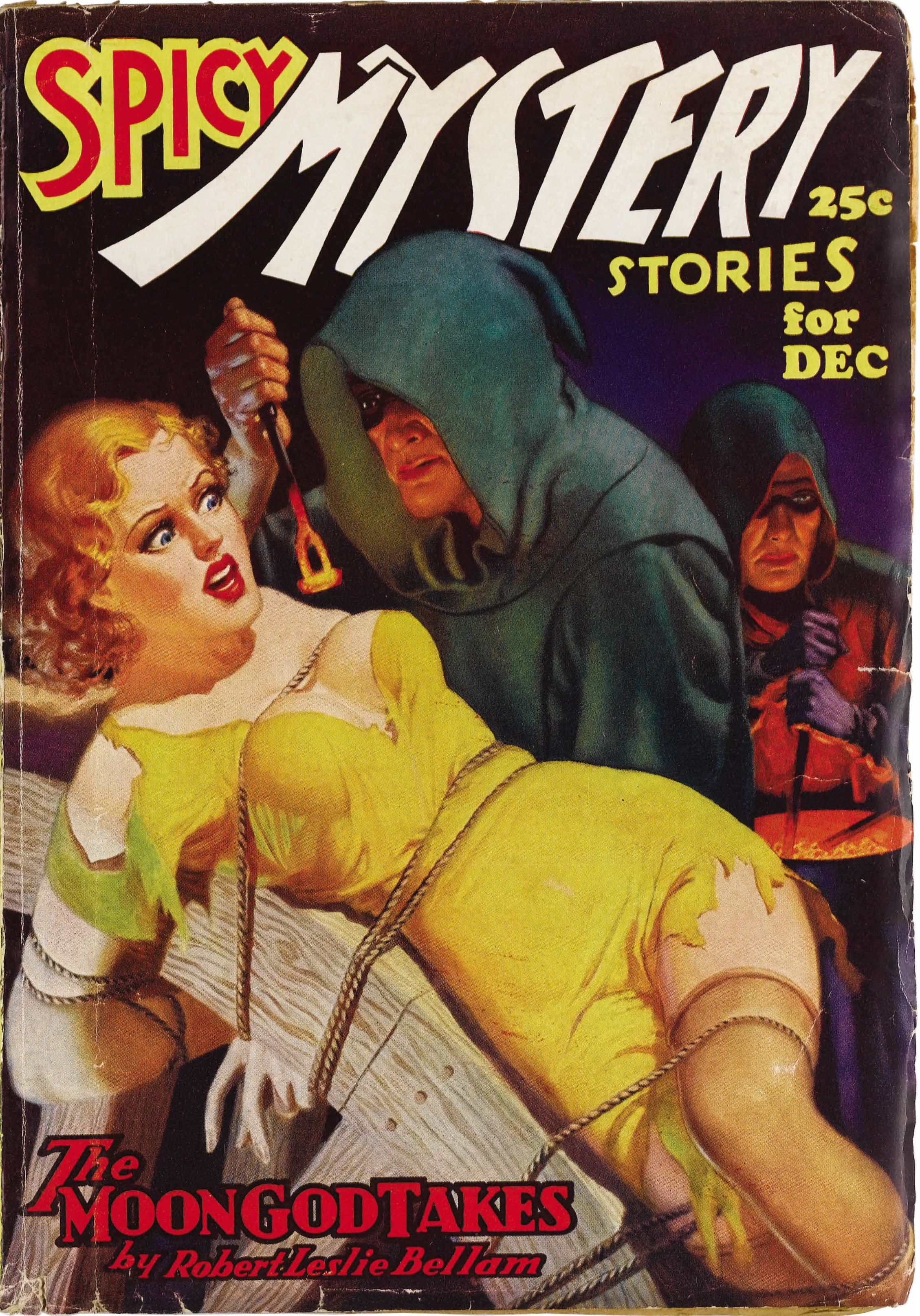 SPICY MYSTERY STORIES | vintage weird menace pulp cover art
