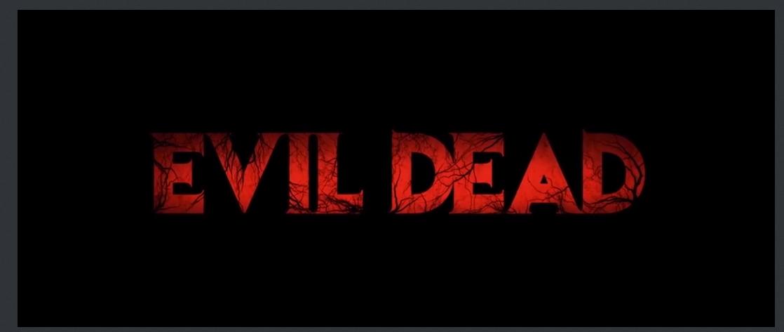 Image Result For Horror Title Evil Dead 1981 Evil Dead