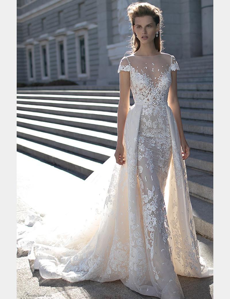 50+ Convertible Wedding Dresses Detachable Skirts