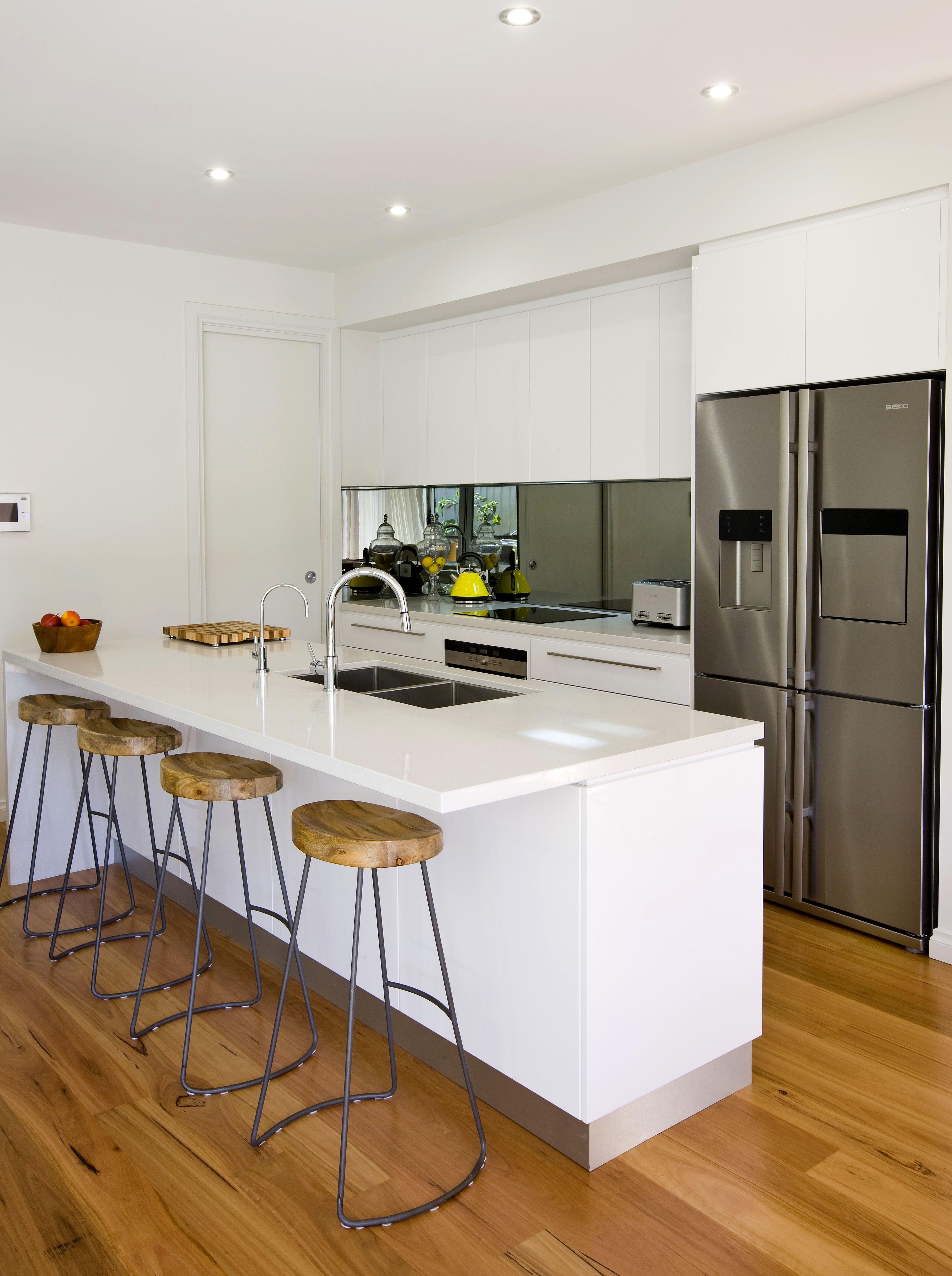 Custom Home build #kitchen #kitcheninspo #white #fresh ...